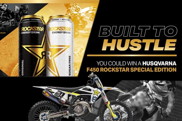 Rockstar Husqvarna Motorcycle Giveaway