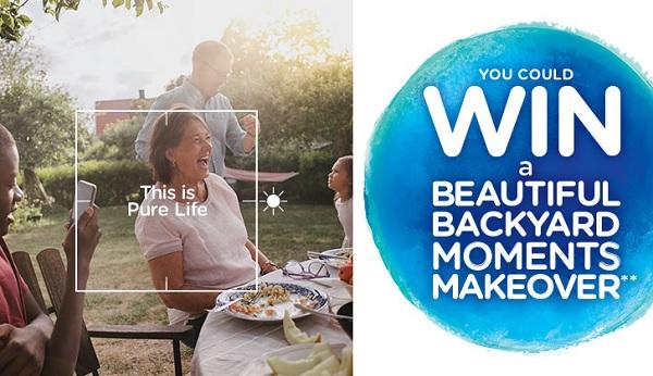 Nestle Pure Life Backyard Makeover Sweepstakes