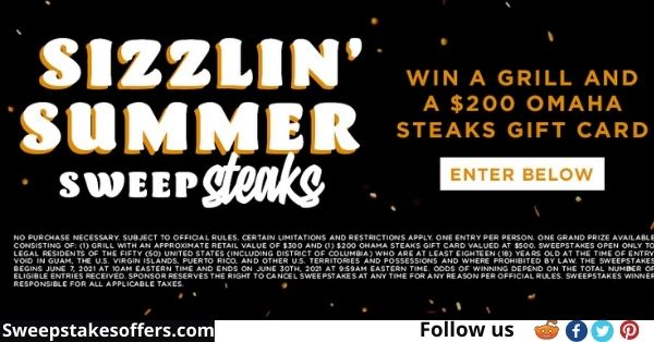 INSP Sizzlin Summer Sweepstakes
