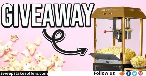 Nostalgia Popcorn Machine Giveaway