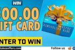 ArcaMax $500 Visa Gift Card Sweepstakes