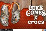 Luke Combs Camo Crocs Giveaway