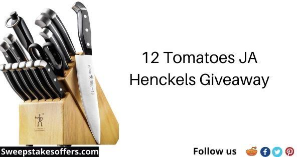 12 Tomatoes JA Henckels Giveaway