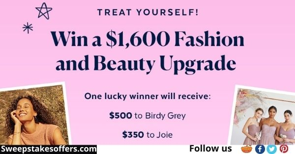 Popsugar $1600 Fashion and Beauty Upgrade Sweepstakes
