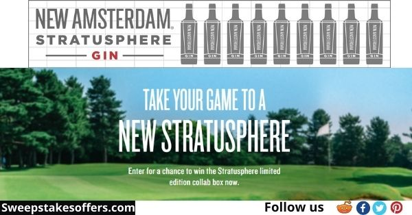 New Amsterdam Gin Golf Gear Sweepstakes