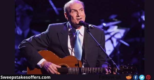 James Taylor Signed Guitar & LP Sweepstakes