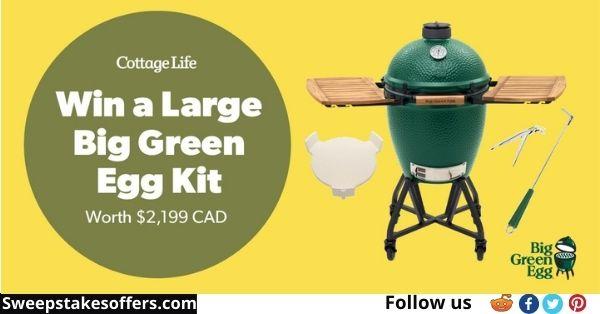 Cottage Life Big Green Egg Contest