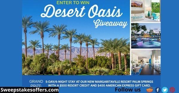 Margaritaville Desert Oasis Giveaway