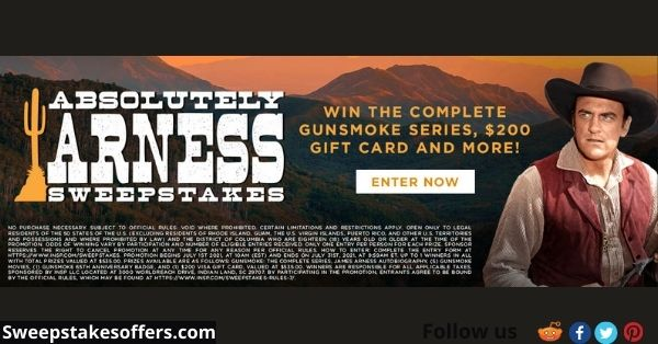 INSP Absolutely Arness Sweepstakes