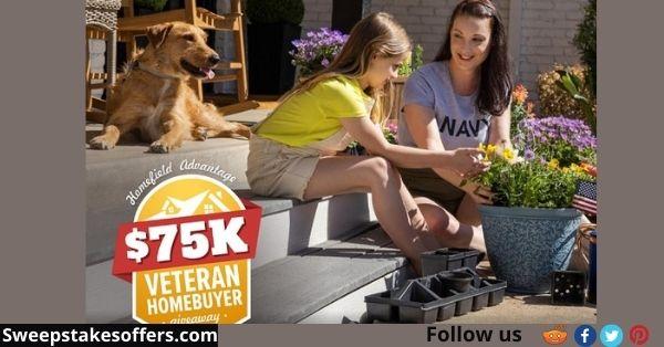 Realtor $75K Veteran Homebuyer Sweepstakes
