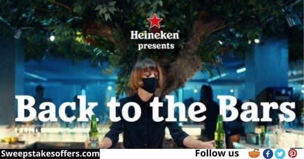 Heineken Back to the Bars Sweepstakes