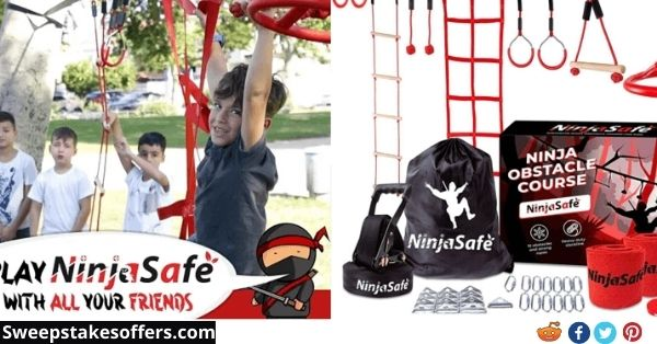 NinjaSafe Obstacle Course For Kids Giveaway