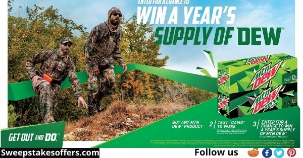 Mtn Dew Year of Dew Kroger Sweepstakes