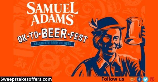 Samuel Adams Octoberfest Find the Golden Stein Instant Win Game