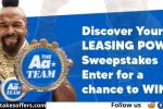 Aaron's Summer Discover Your Leasing Power Sweepstakes