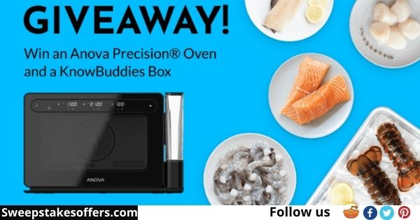 KnowSeafood Precision Oven and Seafood Giveaway