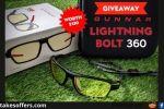 Gunnar Lightning Bolt 360 Gaming Glasses Giveaway