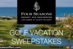 Cabo Golf Bucket List Sweepstakes