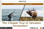 Bass Pro Shops and Cabela The Ultimate Year of Adventure Sweepstakes