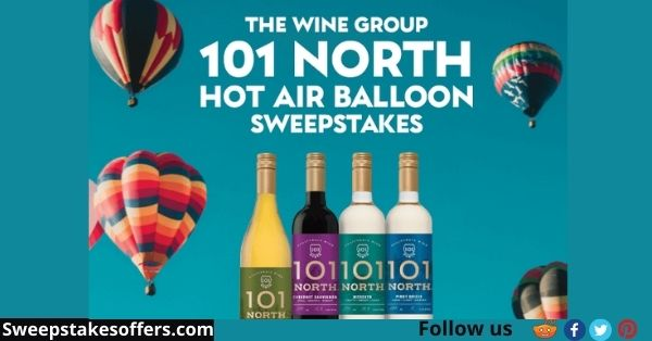 The Wine Group 101 North Hot Air Balloon Sweepstakes