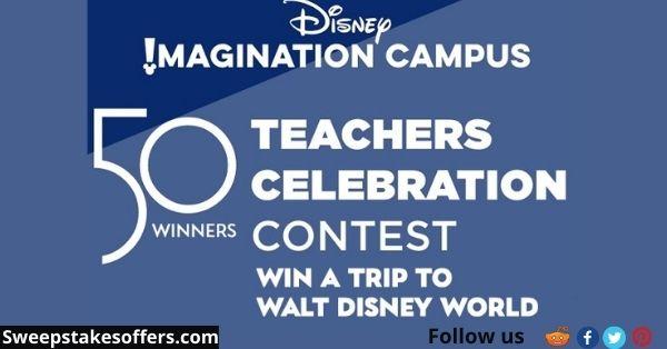 Disney Imagination Campus 50 Teachers Celebration Contest