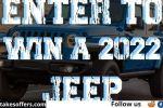 Jeep Wrangler Sweepstakes