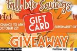 Fall into Savings Gift Card Giveaway