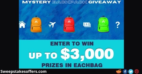 Mystery Backpack Giveaway