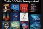 Simon and Schuster Thrills N Chills Sweepstakes
