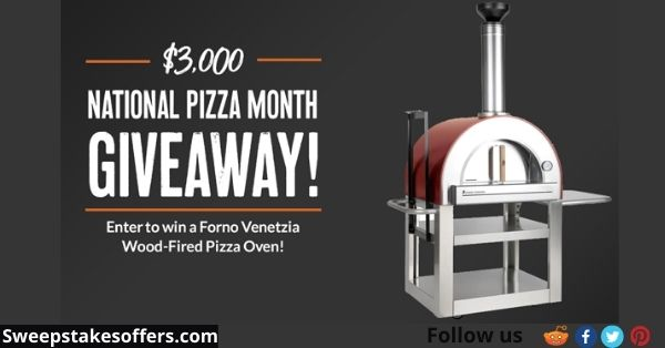 BBQGuy's $3000 National Pizza Month Giveaway