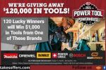Tractor Supply Power Tool Powerhouse Sweepstakes