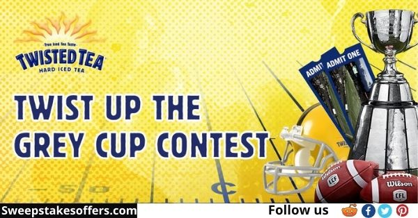 CFL Twist Up The Grey Cup Contest
