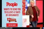 People Ellen DeGeneres 12 Days of Giveaways