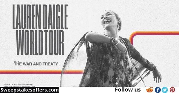 SiriusXM Lauren Daigle World Tour Sweepstakes