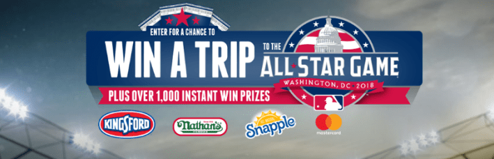 Kingsford All Star Week Sweepstakes