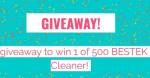Bestek Win A Vacuum Cleaner Giveaway