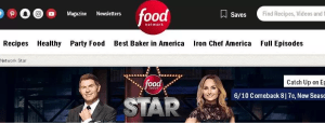 Food Network Star Fan Favorite Sweepstakes