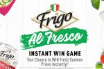 Frigo Al Fresco Instant Win Sweepstakes