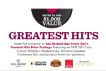 Rachael Ray Magazine Greatest Hits Sweepstakes