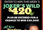 TBS Snoop Dogg The Joker's Wild Sweepstakes