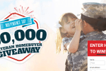 Veterans United Home Loans - $50,000 Veteran Homebuyer Giveaway