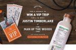 Bai Justin Timberlake Concert Getaway Sweepstakes 2018