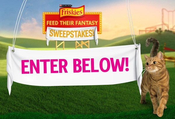 friskies feed their fantasy sweepstakes - A year of supply