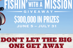 GRIZZLY FISHIN WITH A MISSION GIVEAWAY
