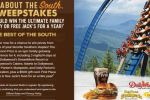 All About The South Sweepstakes - Win A Family Getaway