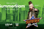 cricket wireless summer slam flyaway sweepstakes