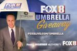 FOX 8 Live Umbrella Giveaway