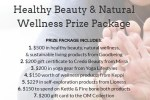 GLOW Clean Beauty, Natural Wellness & Fitness Package Sweepstakes