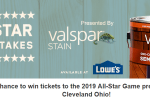 MLB All-Star Sweepstakes presented by Valspar Stain Sweepstakes