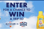 MLB Clean Up and Win Sweepstakes